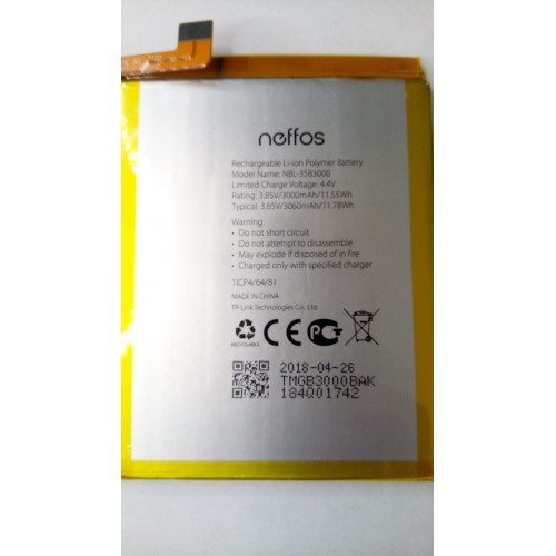 Batería NBL-35B3000 Neffos C7 / X9